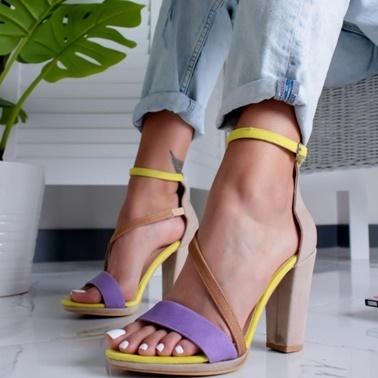 Limoya Ayakkabı Sarı